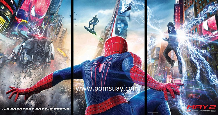 the amazing spider man 2 ดิ อะเมซิ่ง สไปเดอร์แมน 2 ดู ระบบ imax