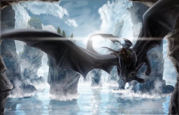 nightfury-hiccup-how-to-dragon-2-character-wallpaper-desktop-backgrounds