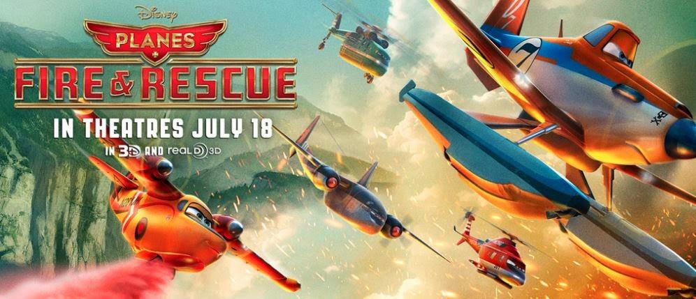 Planes: Fire & Rescue เพลนส์ ผจญเพลิงเหินเวหา 3D ภาคไทย
