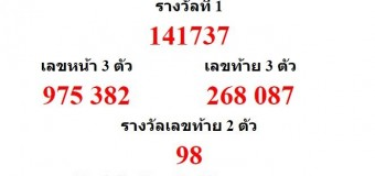 หวยออกงวด 16 พฤษภาคม 2559 (16-05-59) หวยงวดล่าสุด ผลสลากกินแบ่งรัฐบาล