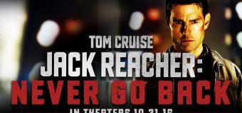 Imax Jack Reacher: Never Go Back ยอดคนสืบระห่ำ 2