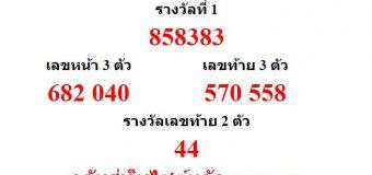 หวยออกงวด 16 พฤศจิกายน 2559 (16-11-59) หวยงวดล่าสุด ผลสลากกินแบ่งรัฐบาล