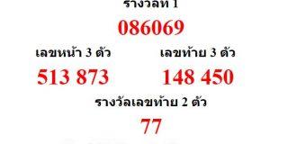 หวยออกงวด 1 ธันวาคม 2559 (1-12-59) หวยงวดล่าสุด ผลสลากกินแบ่งรัฐบาล