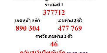 หวยออกงวด 30 ธันวาคม 2559 (30-12-59) หวยงวดล่าสุด ผลสลากกินแบ่งรัฐบาล