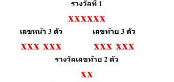 หวยออกงวด 16 กันยายน 2560 (16-09-60) หวยงวดล่าสุด ผลสลากกินแบ่งรัฐบาล