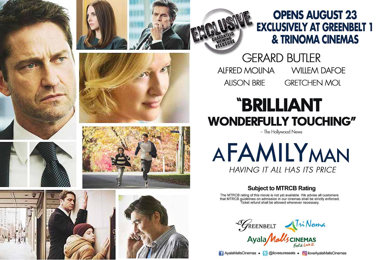 A Family Man อะแฟมิลี่แมน ชื่อนี้ใครก็รัก