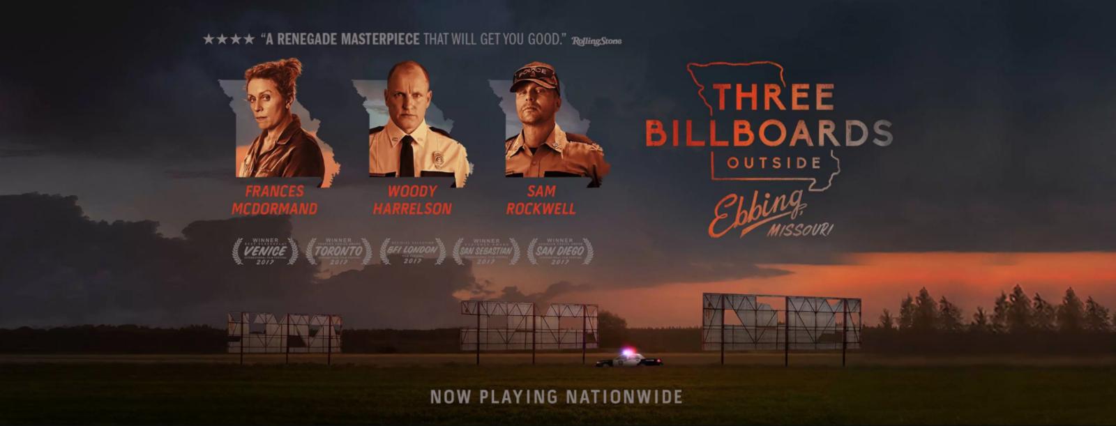 Three Billboards Outside Ebbing, Missouri 3 บิลบอร์ด ทวงแค้นไม่เลิก