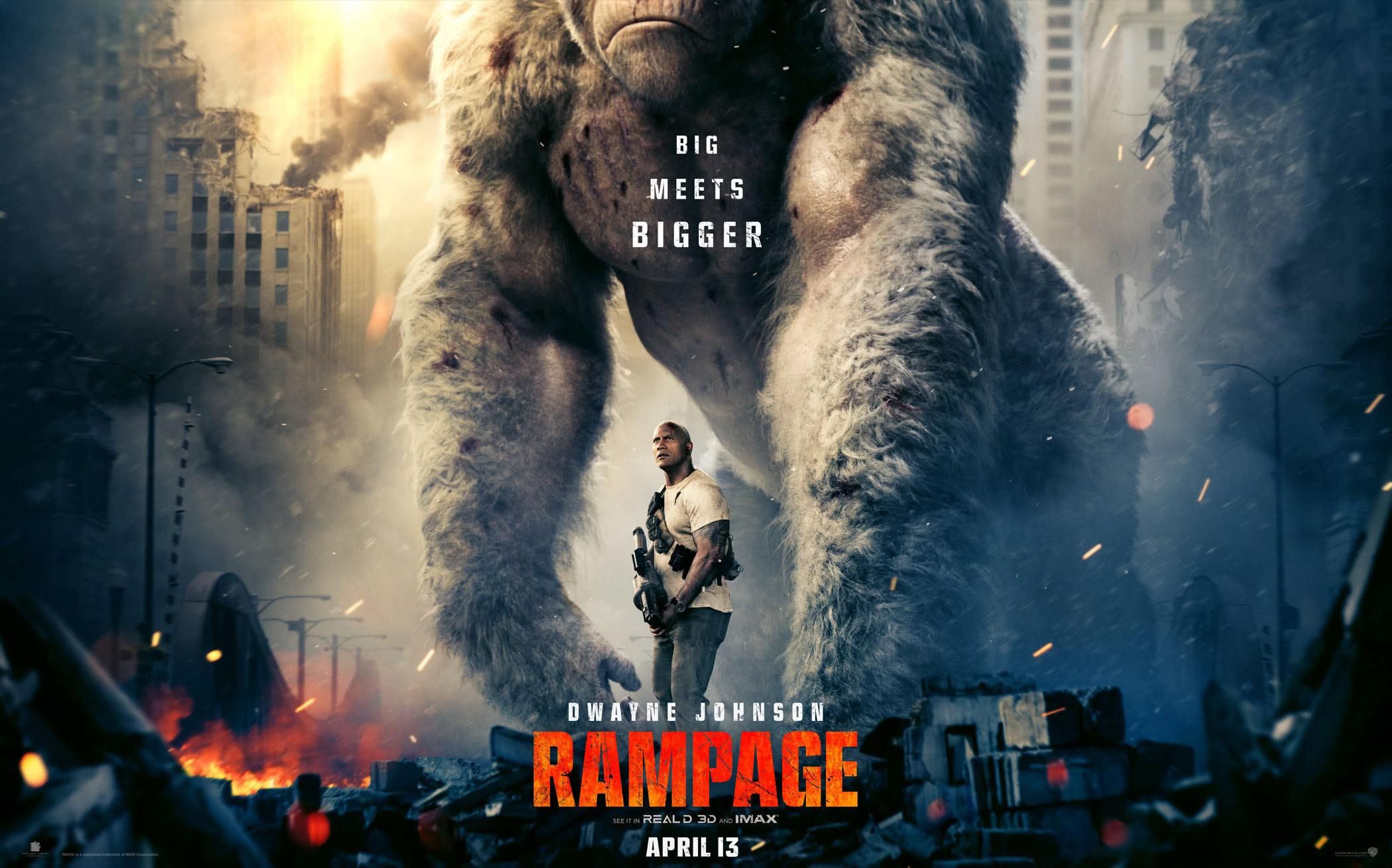 Rampage แรมเพจ วายร้ายทำลายล้าง