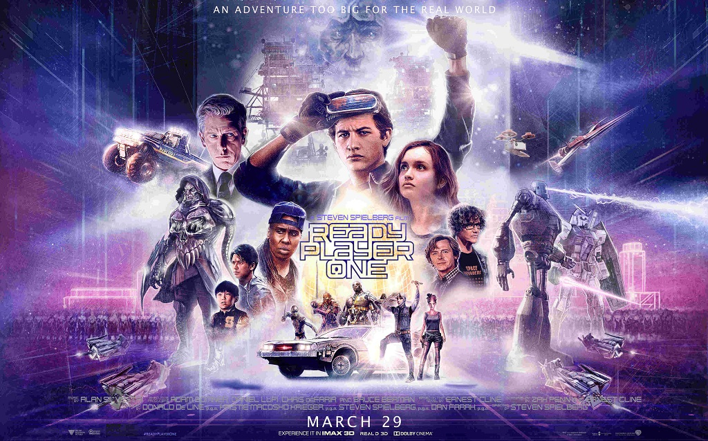 IMAX Ready Player One เรดดี้ เพลเยอร์ วัน สงครามเกมคนอัจฉริยะ