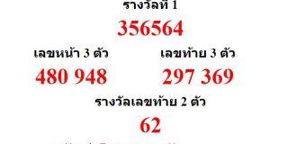 หวยออกงวด 16 ธันวาคม 2561 (16-12-61) หวยงวดล่าสุด ผลสลากกินแบ่งรัฐบาล