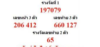 หวยออกงวด 17 มกราคม 2562 (17-01-62) หวยงวดล่าสุด ผลสลากกินแบ่งรัฐบาล