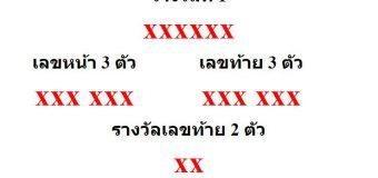 หวยออกงวด 1 มีนาคม 2563 (1-03-63) หวยงวดล่าสุด ผลสลากกินแบ่งรัฐบาล