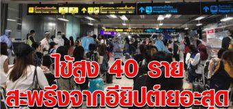 หกร้อยคนไทย กลับจาก 4 ประเทศเสี่ยง ถึงสุวรรณภูมิ พบมีไข้สูง 40 ราย