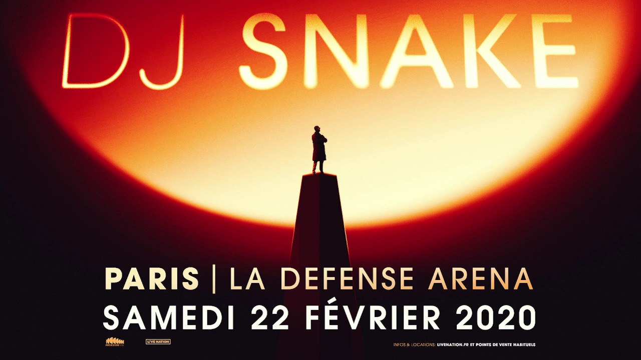 DJ SNAKE PARIS 2020 LIVE SHOW