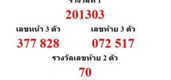 หวยออกงวด 16 ธันวาคม 2563 (16-12-63) หวยงวดล่าสุด ผลสลากกินแบ่งรัฐบาล