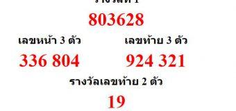 หวยออกงวด 30 ธันวาคม 2563 (30-12-63) หวยงวดล่าสุด ผลสลากกินแบ่งรัฐบาล