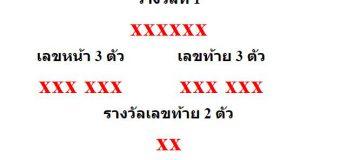 หวยออกงวด 1 มีนาคม 2564 (1-03-64) หวยงวดล่าสุด ผลสลากกินแบ่งรัฐบาล