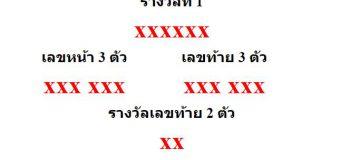 หวยออกงวด 1 เมษายน 2564 (1-04-64) หวยงวดล่าสุด ผลสลากกินแบ่งรัฐบาล