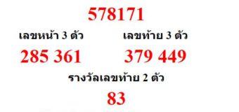หวยออกงวด 1 ตุลาคม 2564 (1-10-64) หวยงวดล่าสุด ผลสลากกินแบ่งรัฐบาล